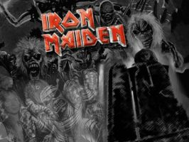 Iron Maiden Wallpaper by A-Nukem