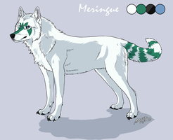 Meringue character sheet by Marzzunny