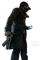 Watch Dogs - Aiden Pearce Body All 2 Render by VaasCARV3R