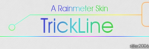 TrickLine for Rainmeter by Slifer2006