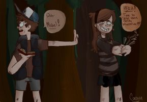 Gravity Falls by TropicalSodaPop