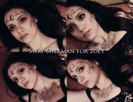 Sway Sherman for Zoey Redbird by zvunche