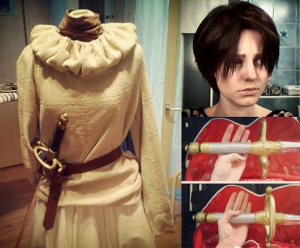 Arya Stark Cosplay WIP by Pinku-the-chan