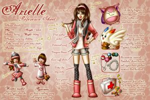 Arielle Reference Sheet by goldfishkang