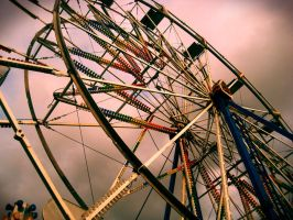 Ferris wheel. by ceejayessee