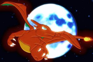 moonnight charizard by Elsdrake