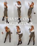 Ilsa Set 1 by magikstock