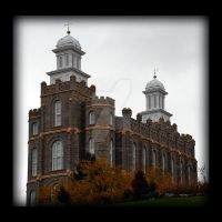 Logan LDS Mormon Temple SW by houstonryan