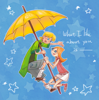 What I like about you is... by SiReLess