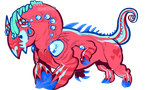 Candypop Pinstripe - FOR SALE by Zenophrenic