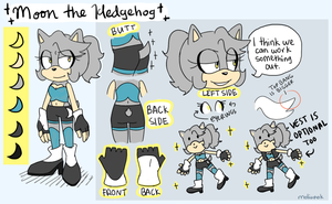 Contest: Moon the Hedgehog REF by moliupok