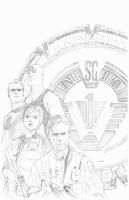 SG-1 001 pencils by kohse