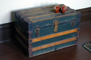 old trunk by LucieG-Stock