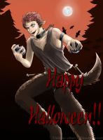 Halloween with Ingo ~ bwahaha !! by Thildou-chan