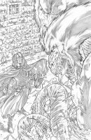 Worlds of Dungeons and Dragons #5, page 1 pencils by JSA