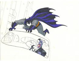 Batman and Harvey. by inarion7
