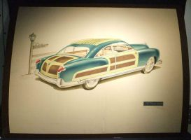 48 Kaiser concept woody by cadillacstyle