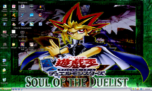 Yami JP Soul of the Duelist Desktop by PharaohAtisLioness