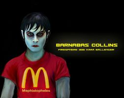 Barnabas Collins-painting by Firesphere306