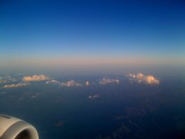 on the plane by MonZ88