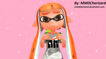 MMD Splatoon - Cutie Orange (New Profile Image) by MMDCharizard