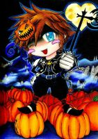 Halloweentown Sora by Chinese-Shinigami
