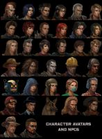 Characters and NPCS by einhajar
