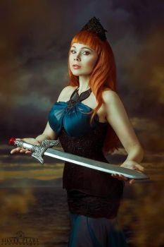 Lady of the Lake II by Silver-Pearl-Photo