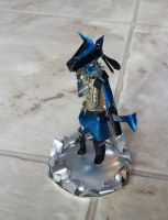 Cherry Pepsi Lucario (Quick Model) by SavantiRomero