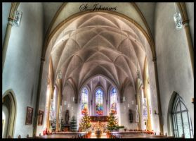 St. Johanneskirche in Rulle Winter 2011 by whydinho