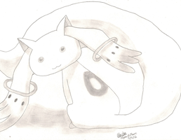 Kyubey by AlyssaGM