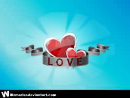 Love Heart Design by WillZMarler