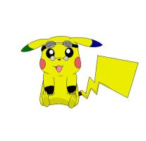 Better drawing of Baylor by Baylor-The-Pikachu
