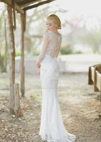 so gorgeous wedding dress! by whiteazalea
