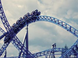 a life like a rollercoaster by Leuchtboje