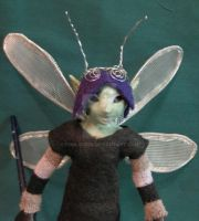 Pen Faery detail by FoolsGrin