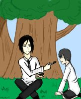 Lunch Time with Ciel and Seba by Ki-Images