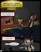 Keeping Up with Thursday: Issue 4, page 1 by KUWTComicsInc