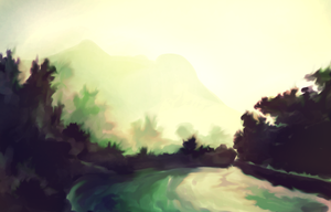SpeedPaint Enviroment 3 by myshrinkingviolet