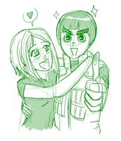 I ship me and Lee. by Takethra