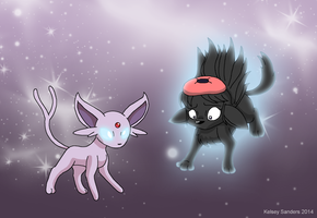 South Park: Wendy and Espeon by KelseyEdward