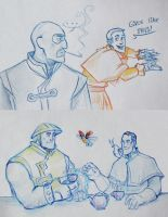 TF2 Avatar sketches by Kethavel