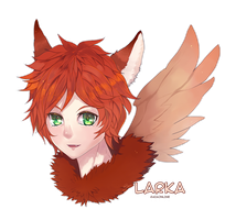 Commission: Larka by ezalen