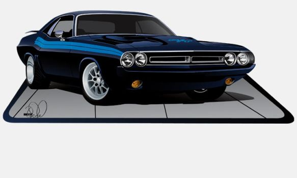 1971 Challenger RT by cityofthesouth