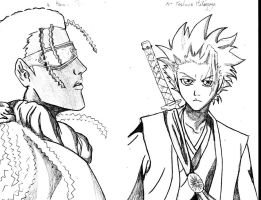 KANAME AND TOSHIRO by BethaQ