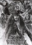 Pirates Of The Caribbean: AWE by D17rulez