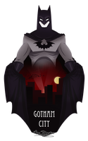 + BATMAN: Gotham City + by Yore-Donatsu