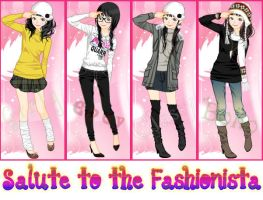 Salute to the fashionista by monidono2