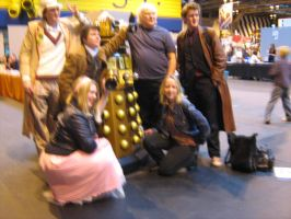 Dr Who Cosplay + Colin Baker by angelofmusicuk