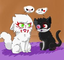 Contest Entry: Bad Kitties by SHADOW-HEART130